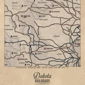 Railroad & Oil Maps
